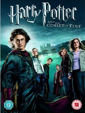 Harry Potter and the Goblet of Fire - DVD-R cover