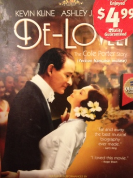 De-Lovely - DVD cover