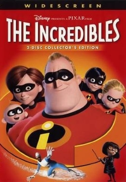 The Incredibles - Video CD cover