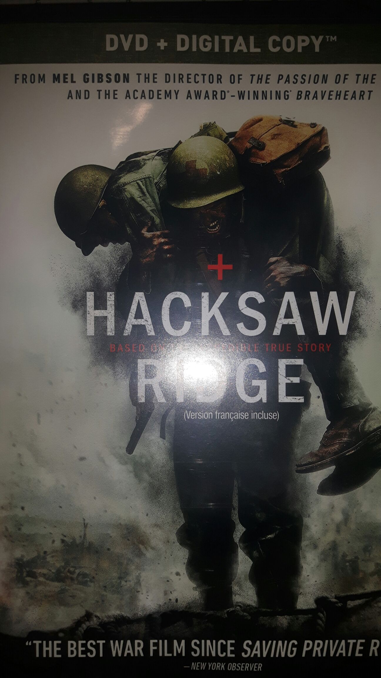 Hacksaw Ridge - DVD cover