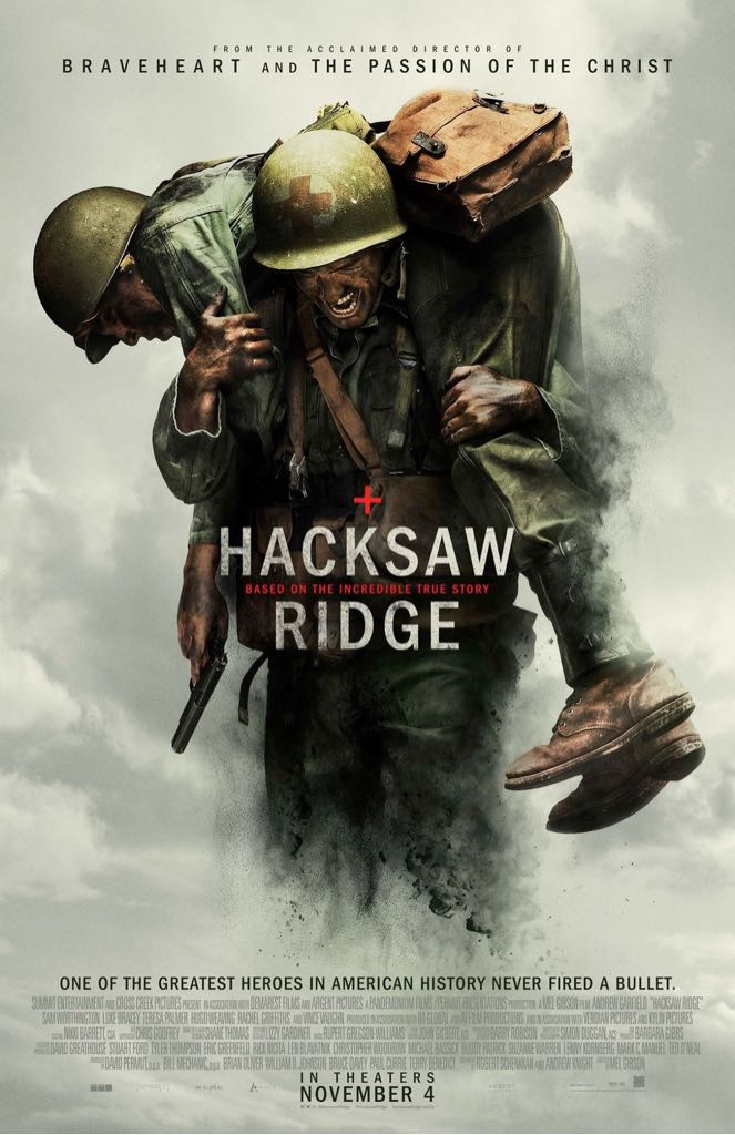 Hacksaw Ridge -  cover