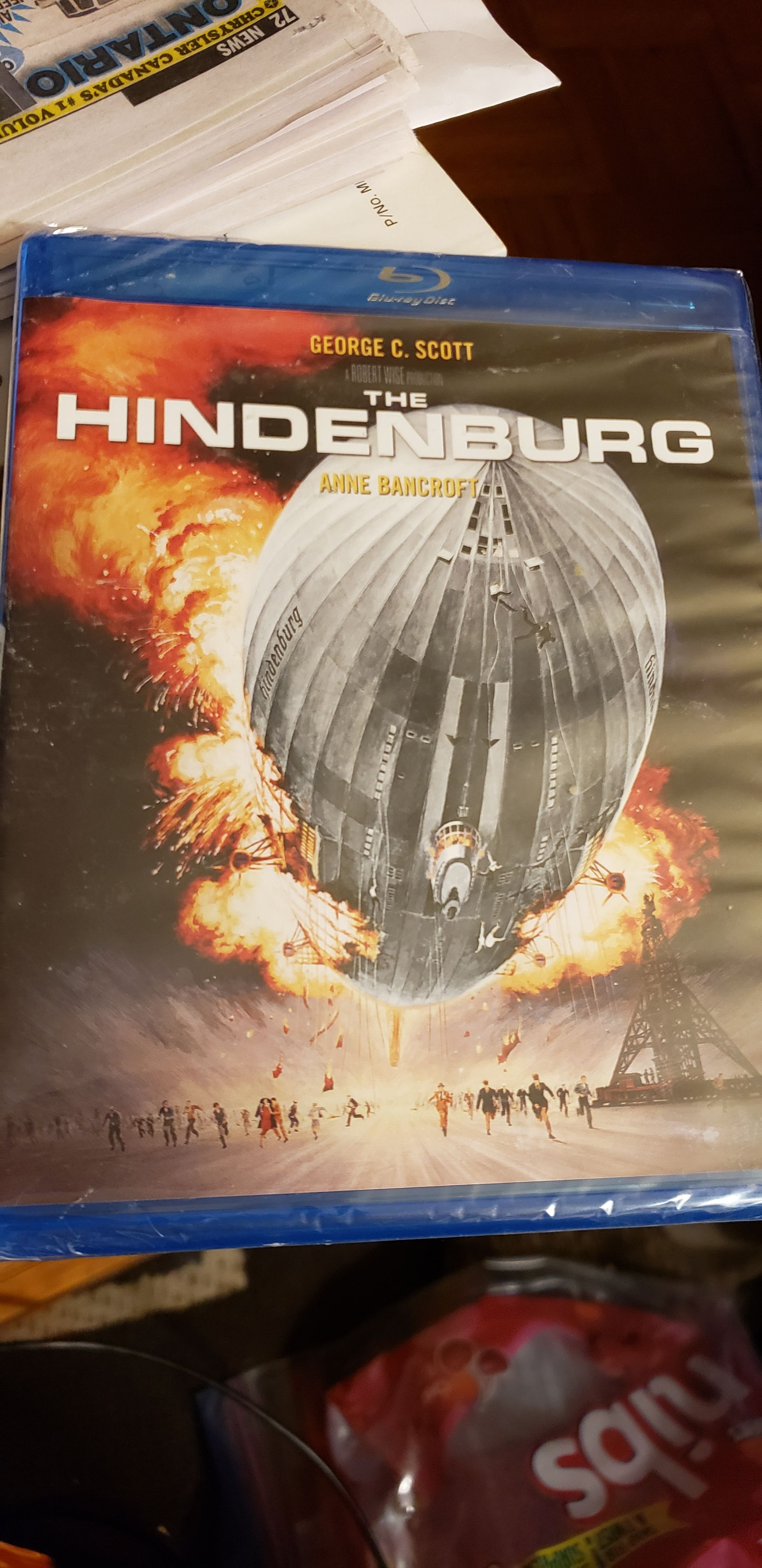 The Hinderburg -  cover