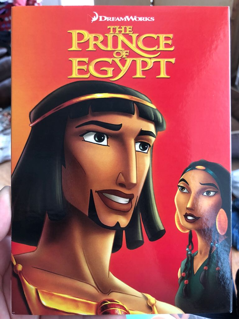 The Prince of Egypt -  cover