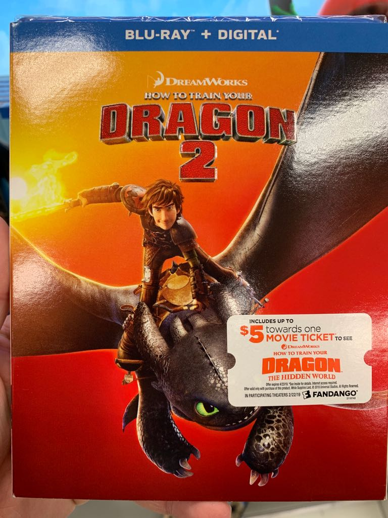 How To Train Your Dragon 2 -  cover