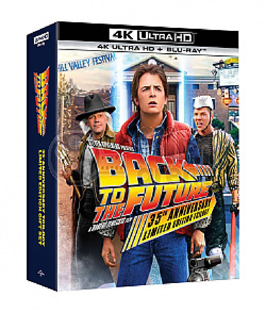 Back to Future Trilogy (Steelbook) -  cover
