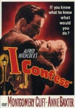 I Confess - VHS cover