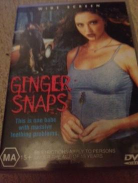 Ginger Snaps - DVD cover
