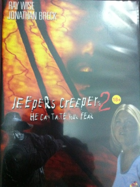 Jeepers Creepers 2 - DVD cover