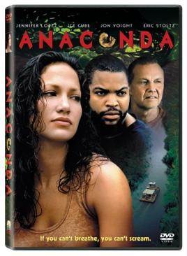 Anaconda - HD DVD cover