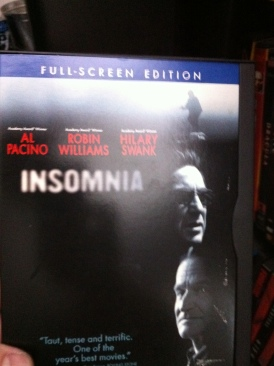 Insomnia - VHS cover