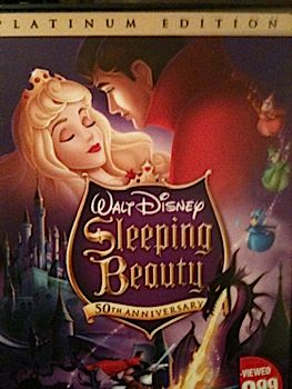 Sleeping Beauty - DVD-R cover