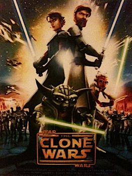 Star Wars: The Clone Wars - Laser Disc cover