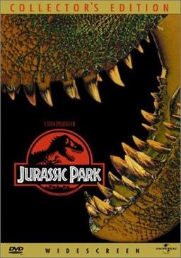 Jurassic Park - DVD cover
