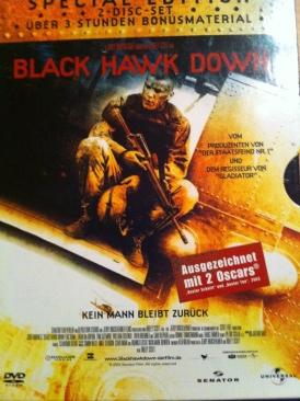 Black Hawk Down - HD DVD cover