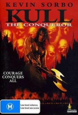 Kull The Conqueror - DVD cover