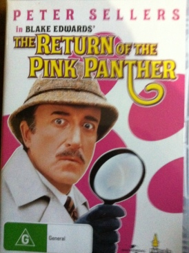 The Return Of The Pink Panther - DVD cover