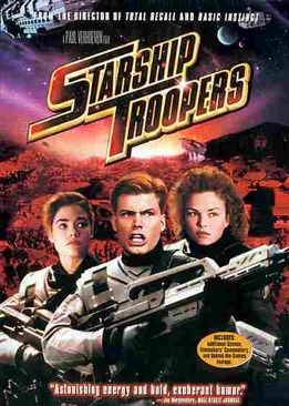Starship Troopers - CED cover