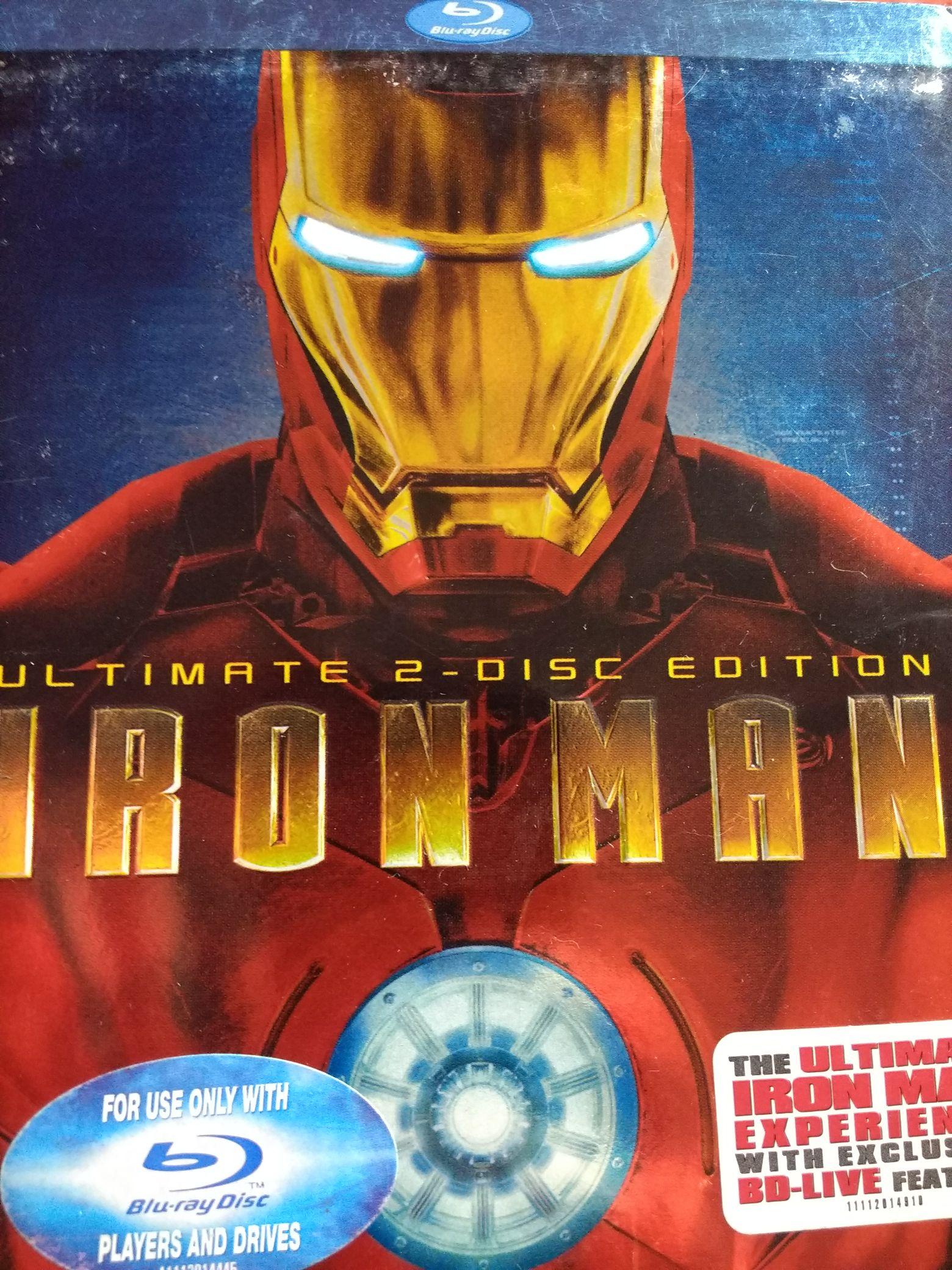 MCU: Iron Man -  cover