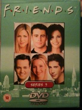 Friends - Season 9 - DVD cover