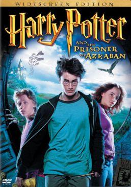 Harry Potter and the Prisoner of Azkaban - DVD cover