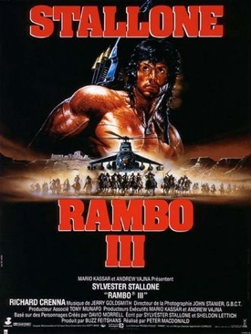 Rambo III - HD DVD cover