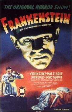 Frankenstein - Video CD cover