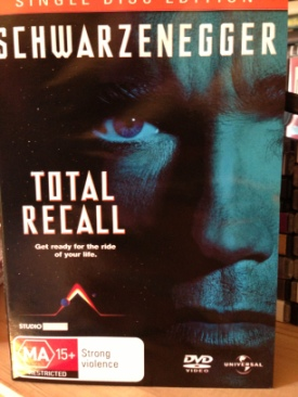 Total Recall - VHS cover