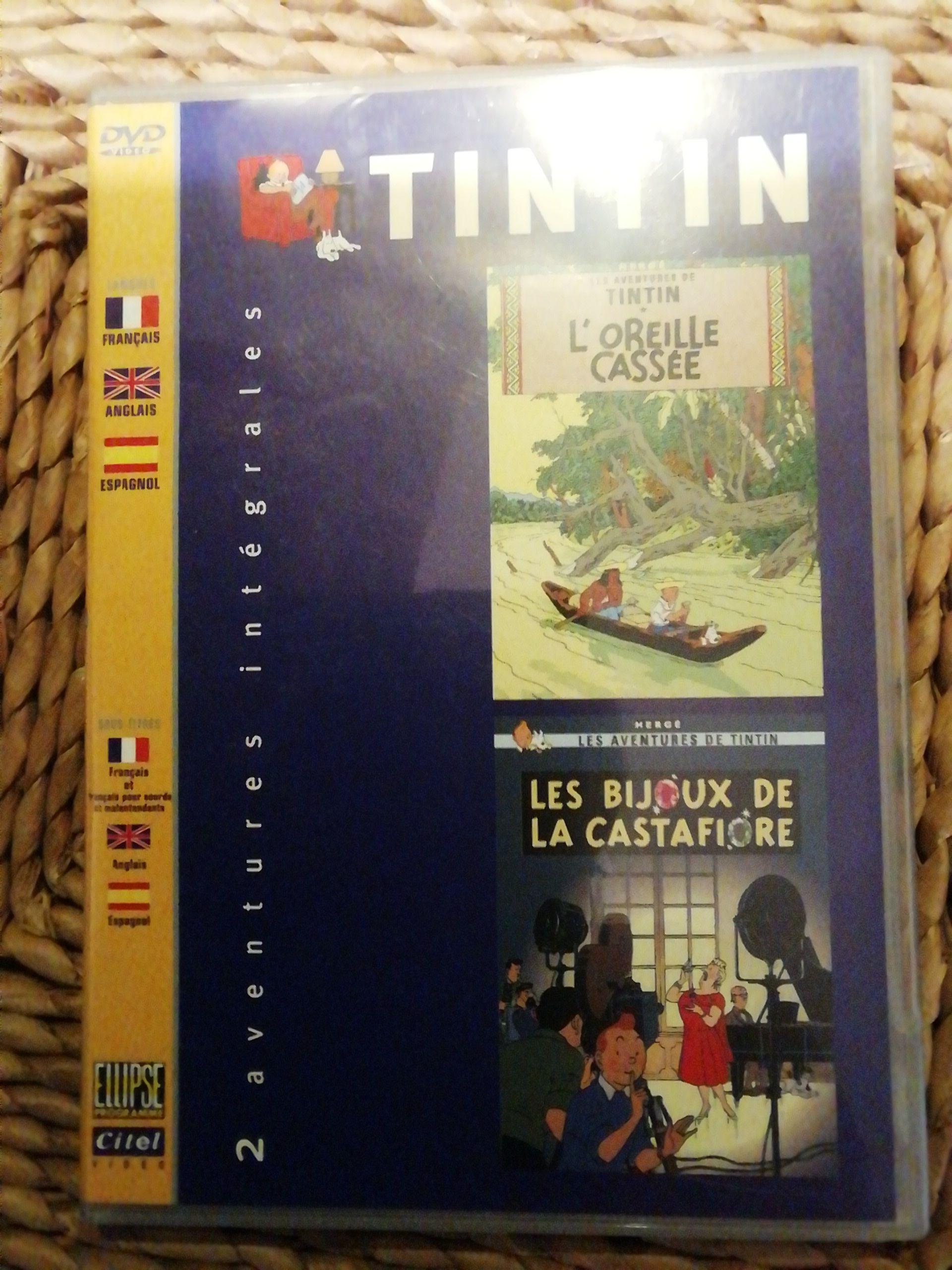 TINTIN LOREILLE CASSÉE ÉT LES BIJOUX DE LA CASTAFIORE -  cover