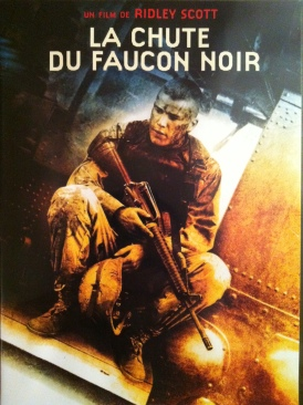 La chute du faucon noir - Video CD cover