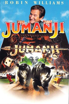 Jumanji - DVD-R cover