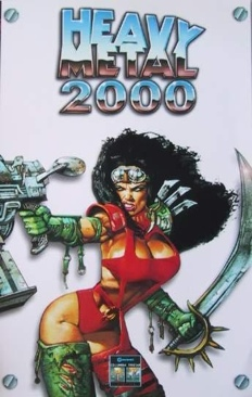 Heavy Metal 2000 - DVD cover