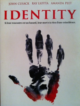 Identity - DVD cover