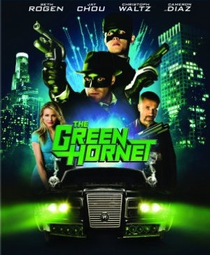 The Green Hornet - Blu-ray cover