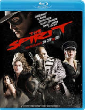 The Spirit - Blu-ray cover