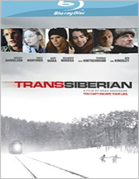 Transsiberian - Blu-ray cover