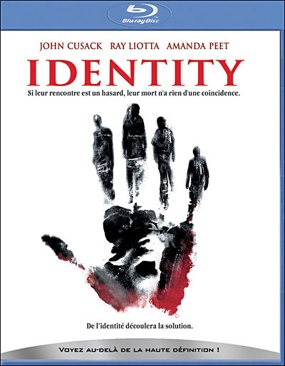 Identity - HD DVD cover