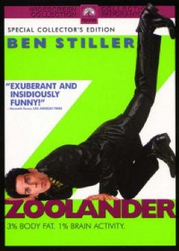 Zoolander - DVD cover