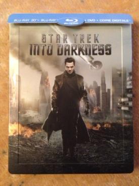 Star Trek XII: Into Darkness - Blu-ray cover