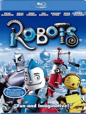 Robots - Blu-ray cover