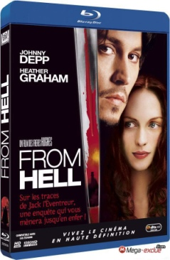 From Hell - Blu-ray cover
