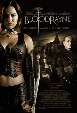 Bloodrayne - Video CD cover