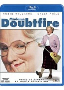 Mrs. Doubtfire - Blu-ray cover