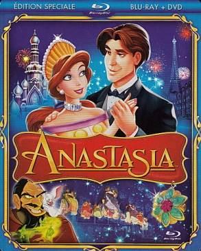 Anastasia - Blu-ray cover