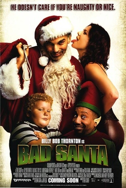 Bad Santa - DVD-R cover