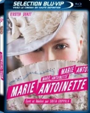 Marie Antoinette - Blu-ray cover