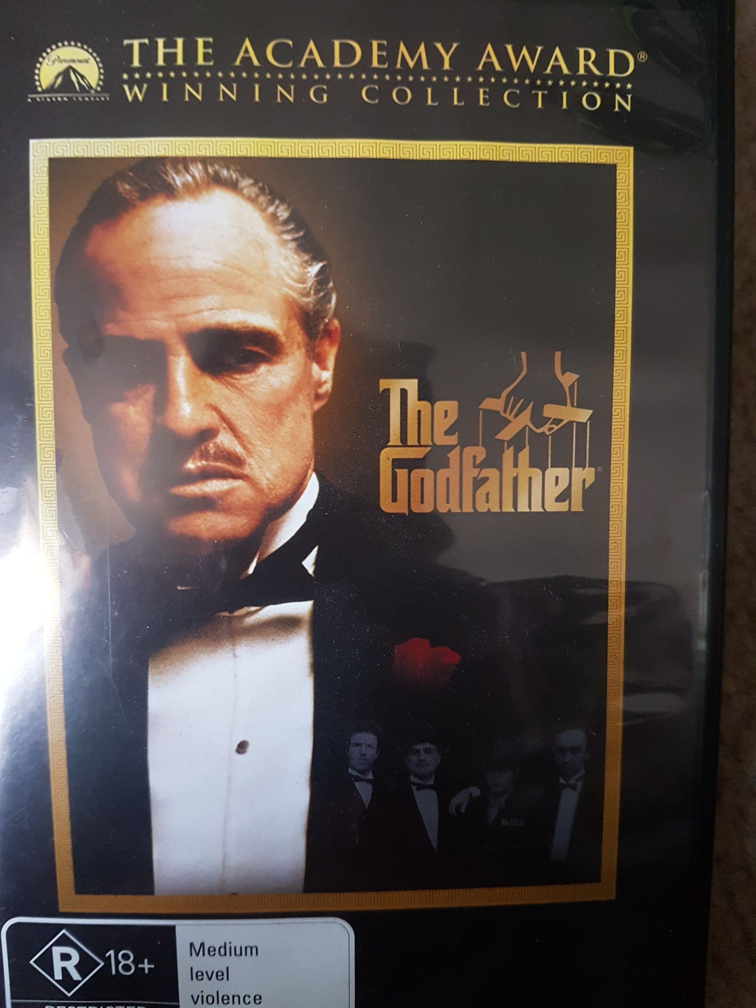 The Godfather. BS  -  cover
