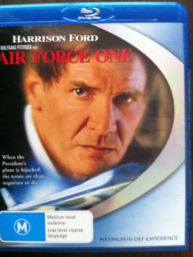 Air Force One - DVD cover