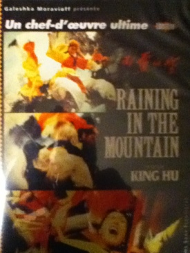Raining In The Mountain - DVD cover
