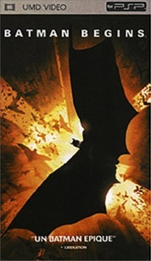 Batman Begins - UMD cover