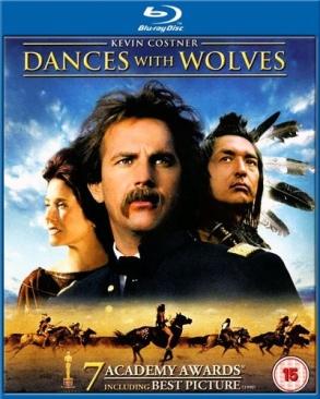 Farkasokkal Táncoló - Blu-ray cover